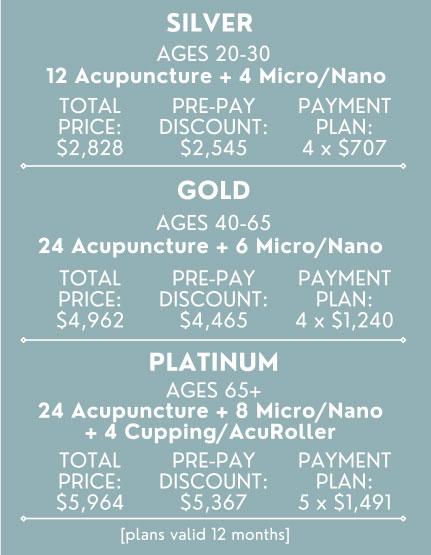 total rejuvenation pricing